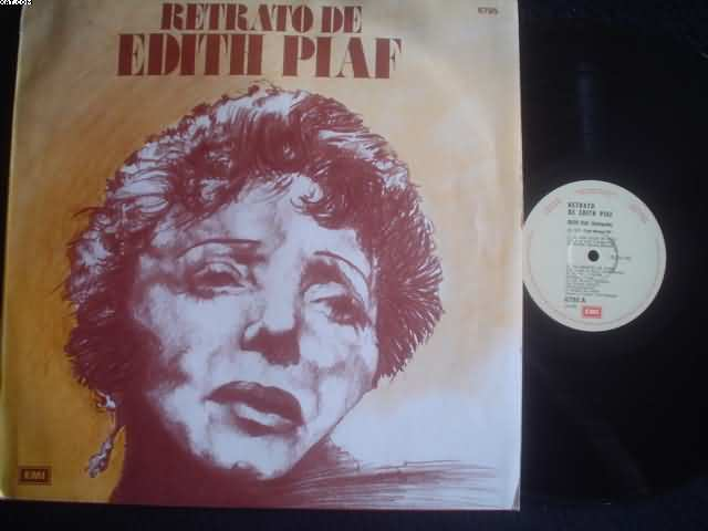 Retrato De Edith Piaf