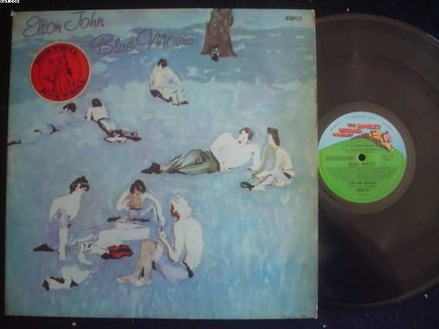 ELTON JOHN - Blue Moves Record