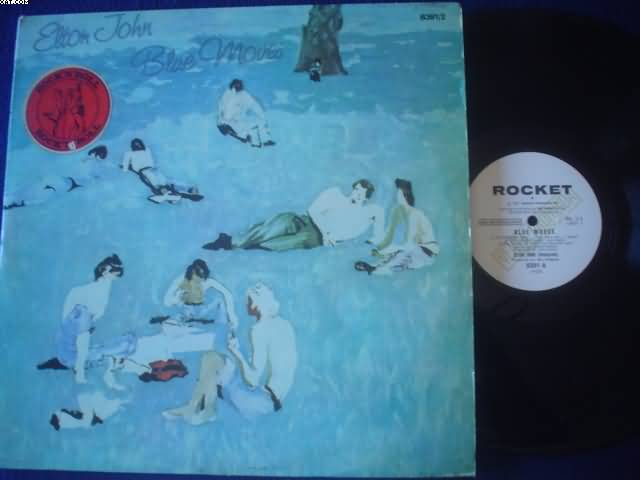 ELTON JOHN - Blue Moves LP