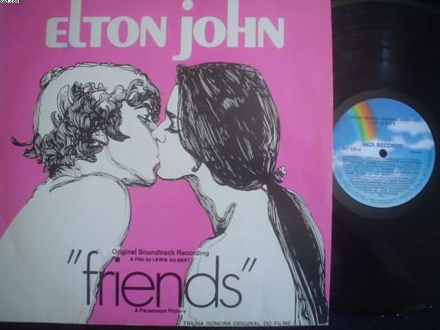 ELTON JOHN - Friends Single