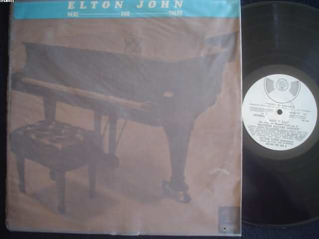 ELTON JOHN - Here And There CD