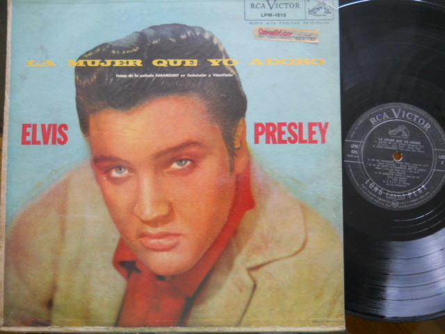 Elvis Presley La Mujer Que Yo Adoro LP