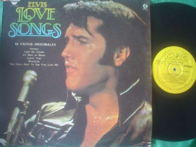 ELVIS PRESLEY - Love Songs Single