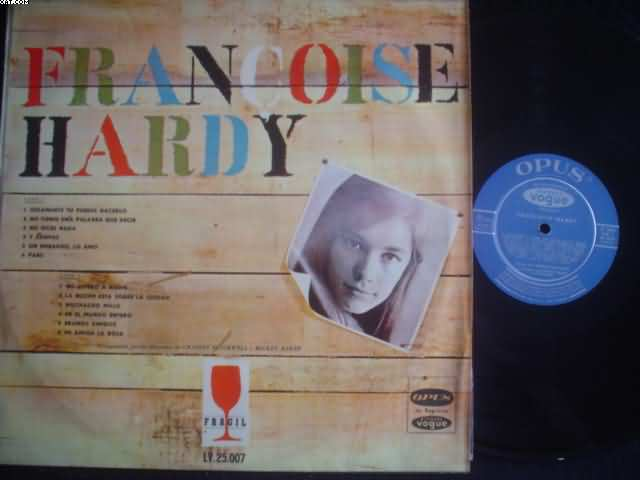 FRANCOISE HARDY - Only You Can Do It +11