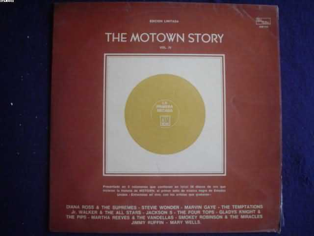 GLADYS KNIGHT & PIPS - The Motown Story Vol.iv