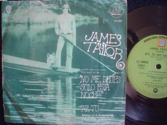 JAMES TAYLOR - Don't Let Me Be Lonely Tonight Album