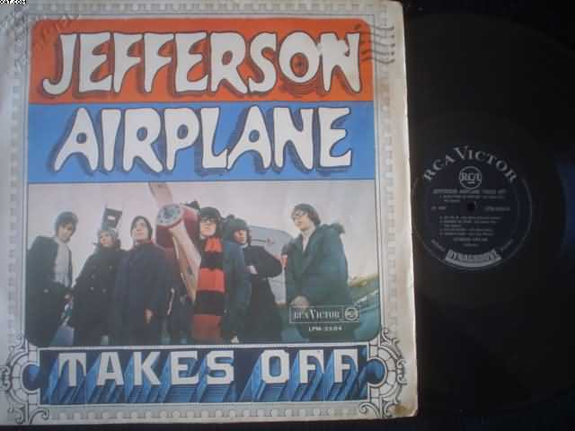 JEFFERSON AIRPLANE - Takes Off Vinyl
