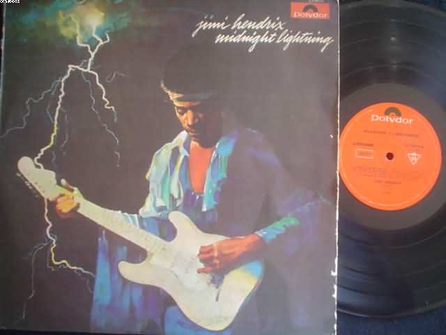JIMI HENDRIX - Midnight Lightning Single