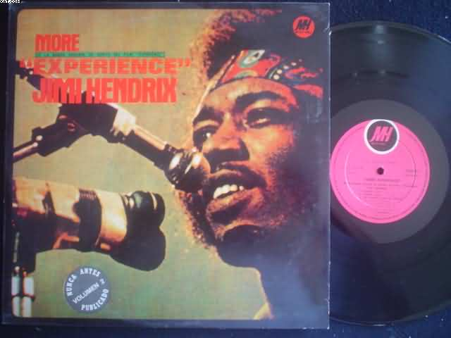 JIMI HENDRIX - More Experience Single