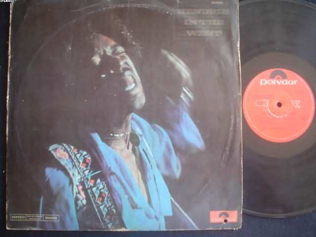 JIMI HENDRIX - In The West Album