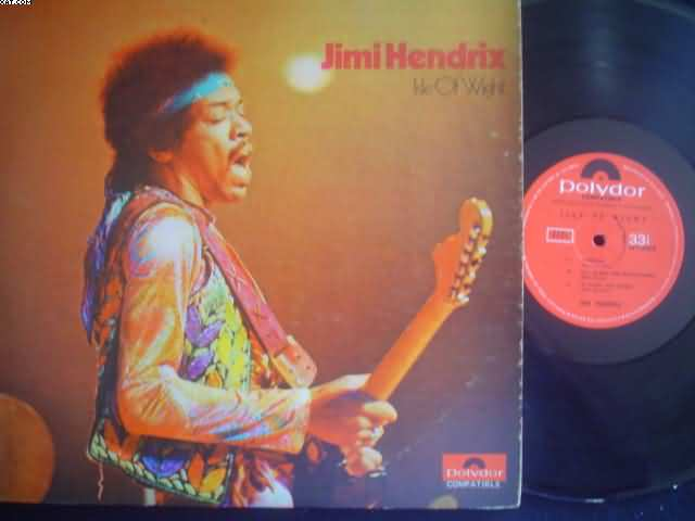 JIMI HENDRIX - Isle Of Wight Album