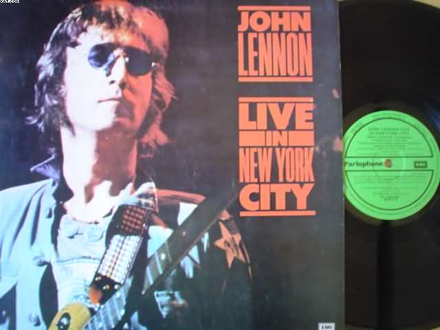 JOHN LENNON - Live In New York City Record