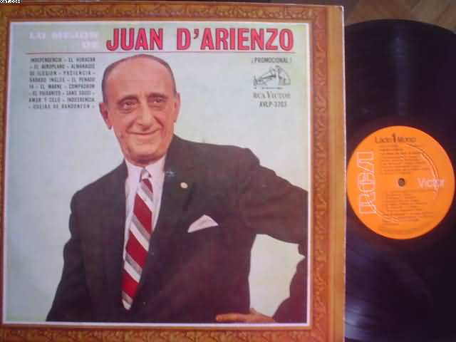 Lo Mejor - JUAN D'ARIENZO