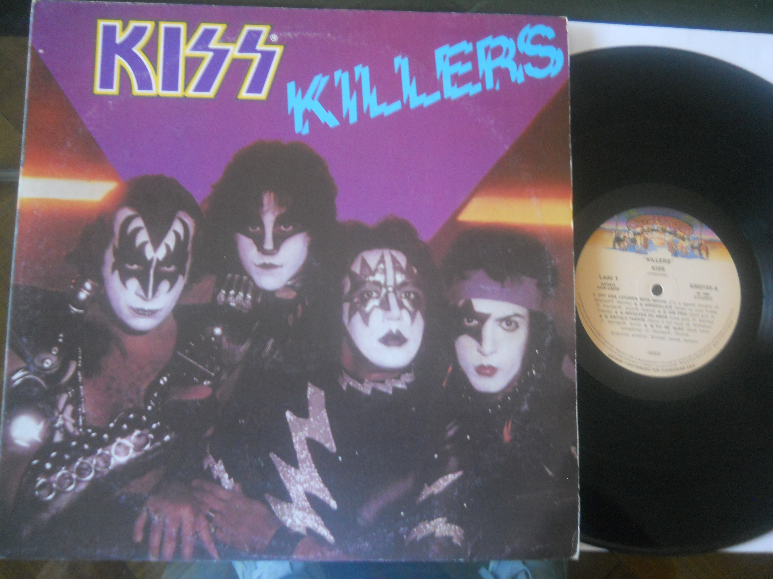 KISS - Killers LP