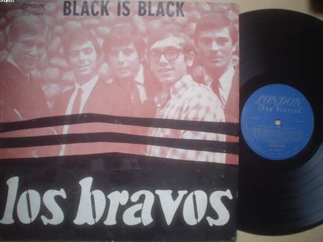 LOS BRAVOS - Black Is Black Record