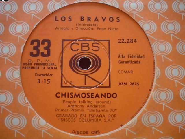 LOS BRAVOS - Chismoseando-a Cada Cual...
