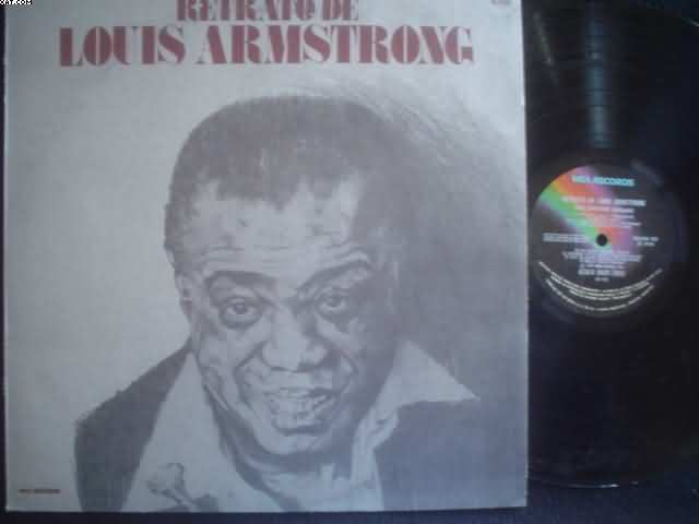 Retrato De Louis Armstrong