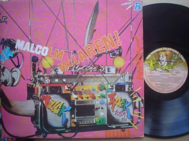MALCOLM MCLAREN - Duck Rock CD
