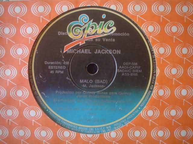 Michael Jackson Malo-Malo 7''