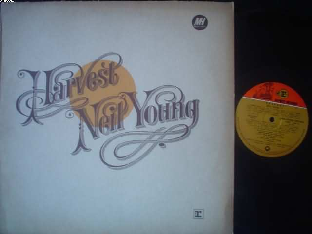 NEIL YOUNG - Harvest LP
