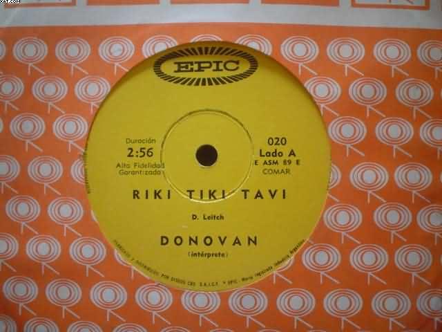 DONOVAN - Riki Tiki Tavi-las Raices Del