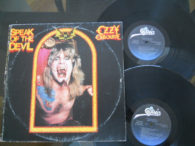 OZZY OSBOURNE - Speak Of The Devil LP