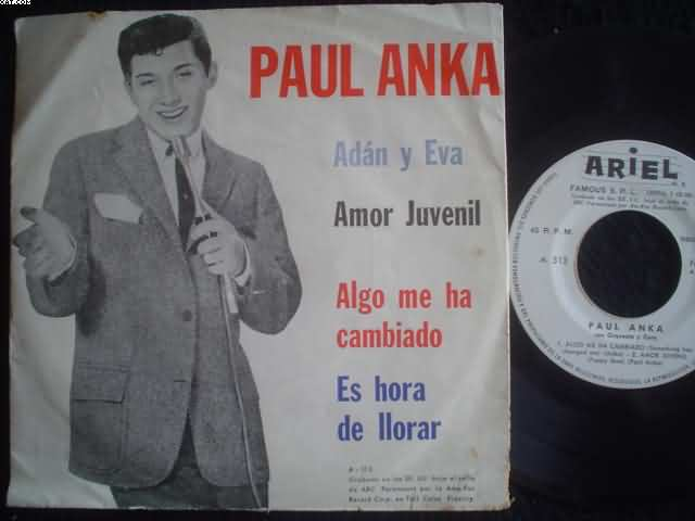 PAUL ANKA - Adan Y Eva
