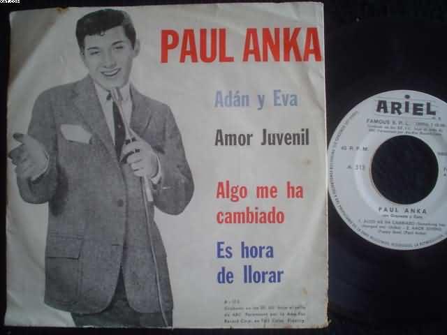 PAUL ANKA - Adan Y Eva