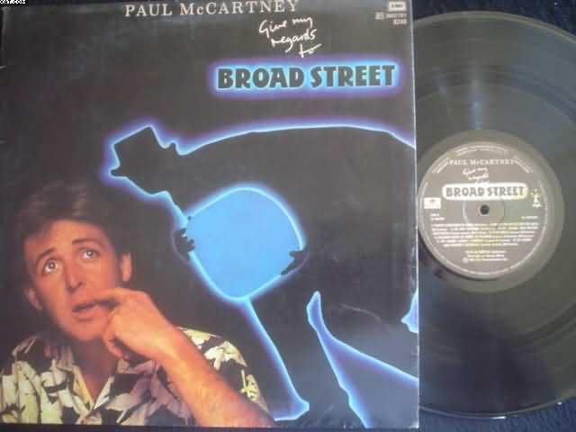 PAUL MCCARTNEY - Give My Regards To Broadstreet CD