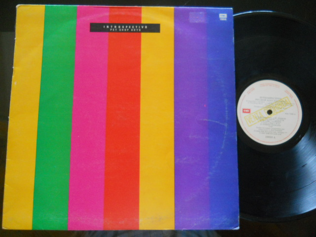 PET SHOP BOYS - Introspectivo Record