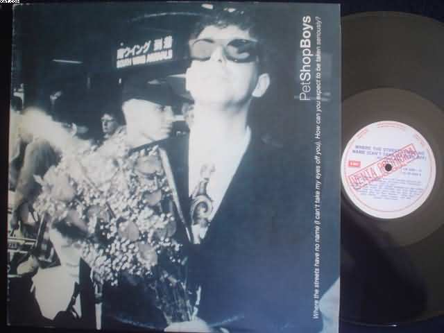PET SHOP BOYS - Where The Streets Have No Name LP