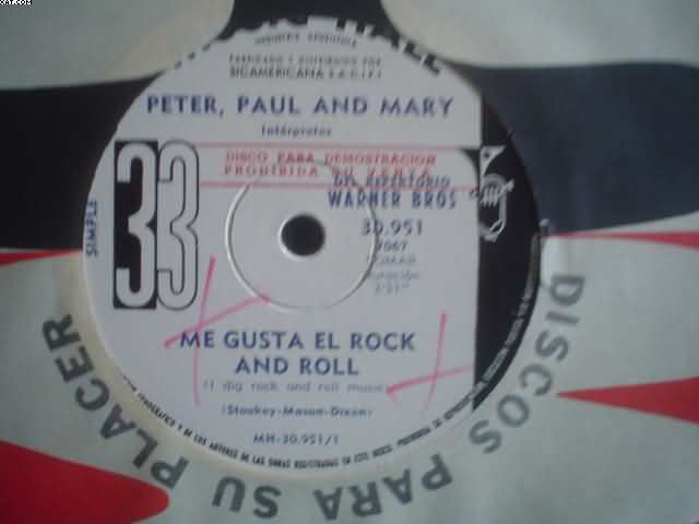PETER PAUL & MARY - Me Gusta El R&r-the Great Mand