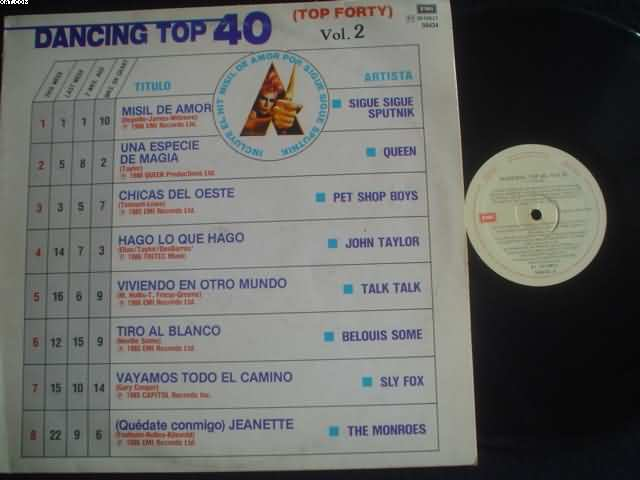 Dancing Top 40 Vol Ii