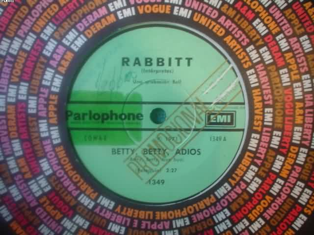 Rabbitt Betty-Betty-Dejalo Brillar 7''