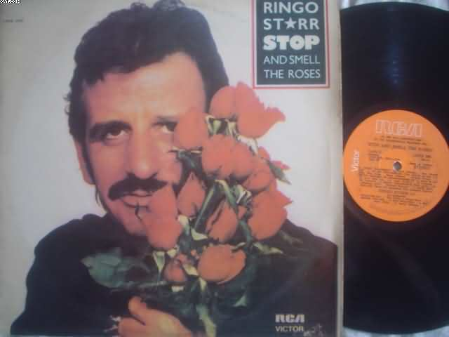 RINGO STARR - Stop And Smell The Roses EP