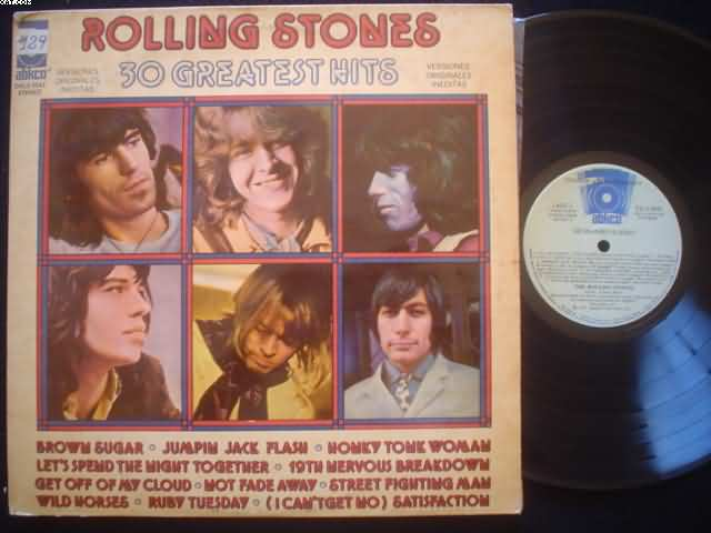 ROLLING STONES - 30 Greatest Hits Album