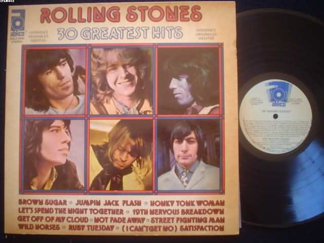 30 Greatest Hits - ROLLING STONES