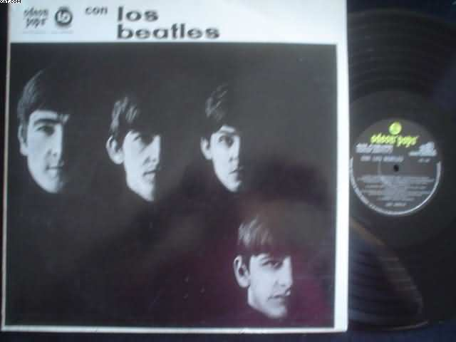 BEATLES - Con Los Beatles LP