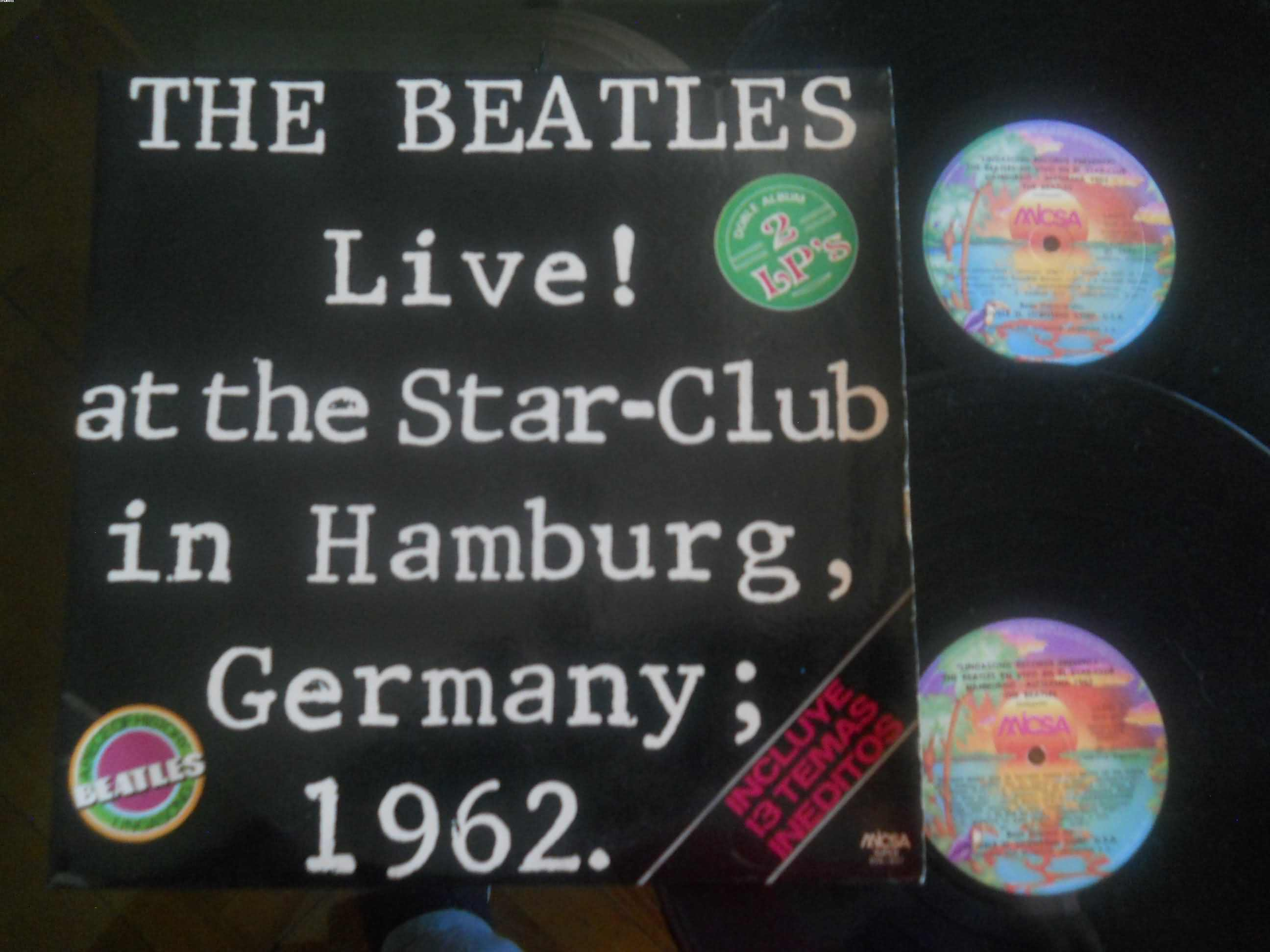 BEATLES - At The Star-club 1962
