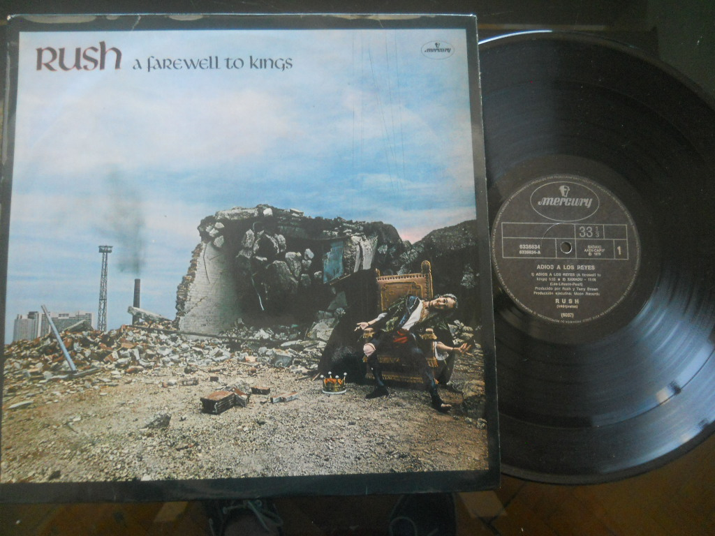 RUSH - A Farewell To Kings Vinyl