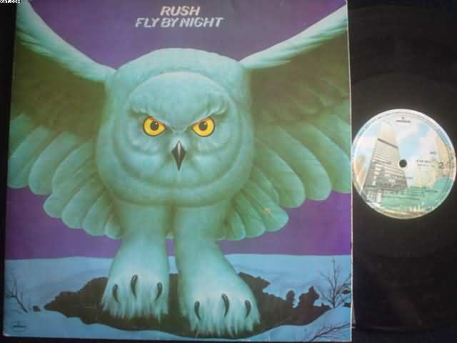 RUSH - Fly By Night Record