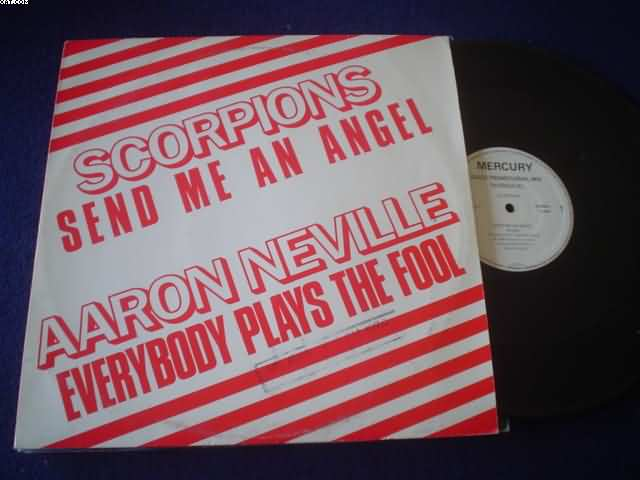 SCORPIONS - Send Me An Angel Record