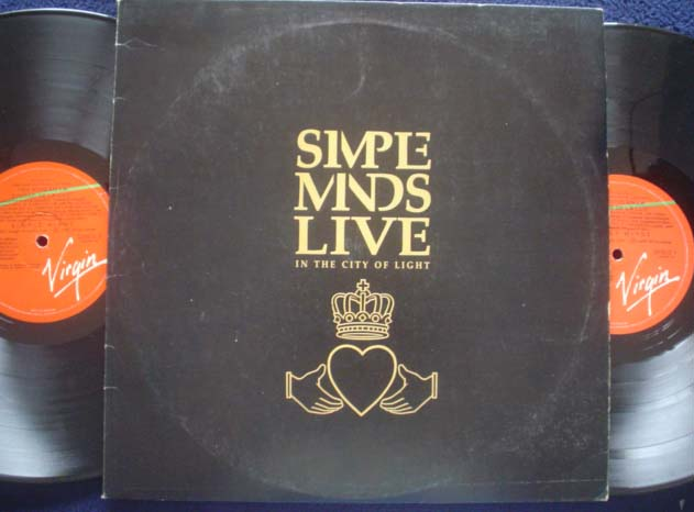 SIMPLE MINDS - Live In The City Of The Light