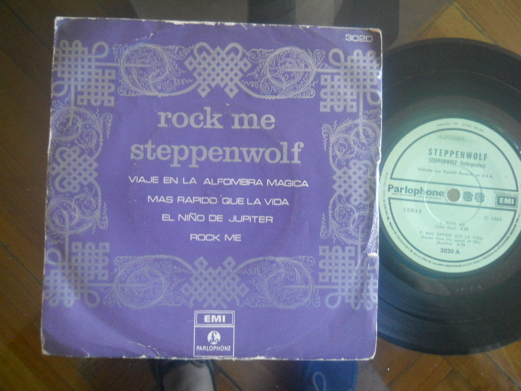 STEPPENWOLF - Rock Me +3