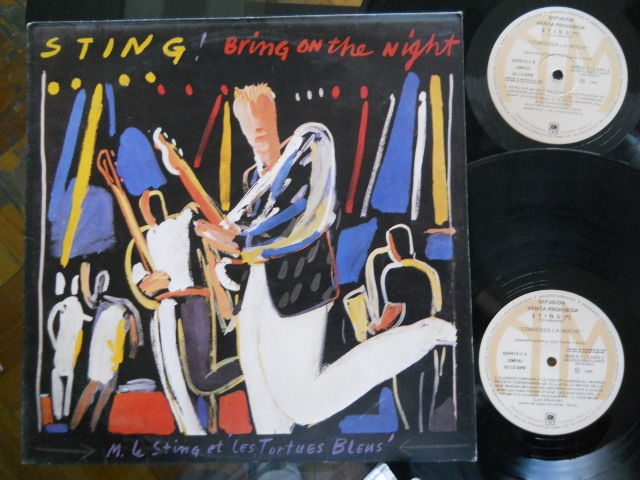 STING - Bring On The Night Vinyl