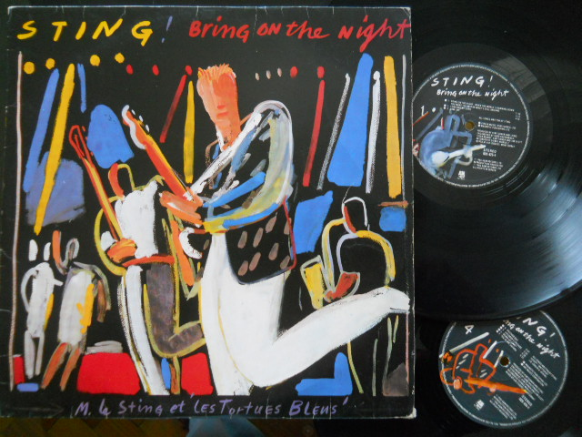 STING - Bring On The Night CD