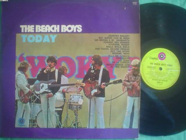 BEACH BOYS - Today Record