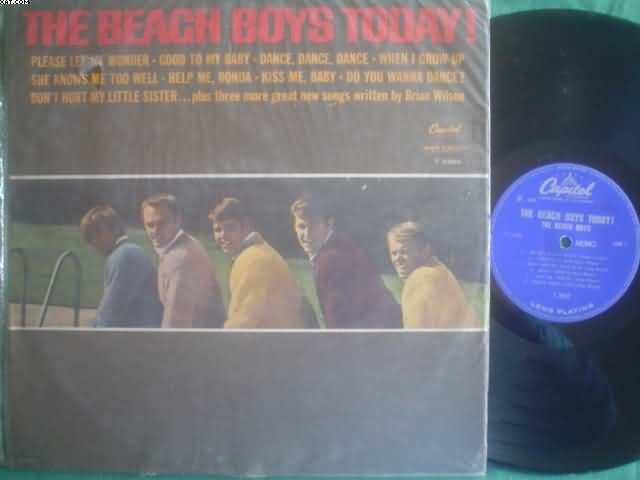 BEACH BOYS - Today! Record