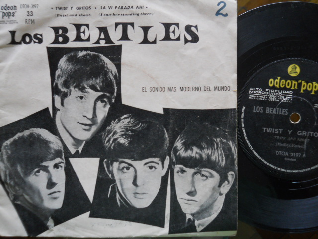 BEATLES - Twist Y Gritos-la Vi Parada Ah