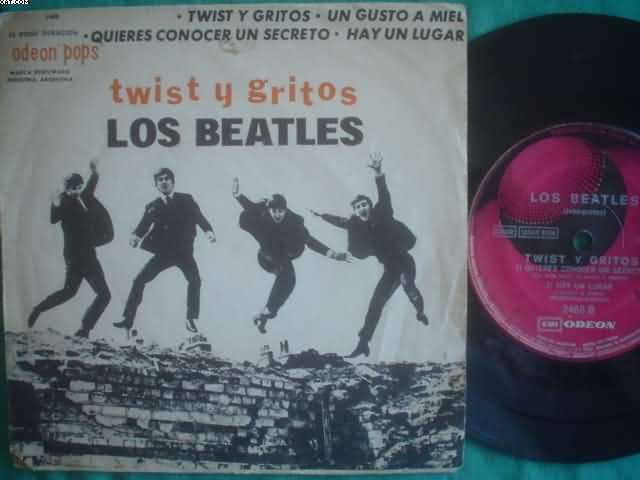Twist Y Gritos +3 - BEATLES